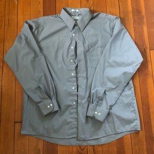 Van Heusen Gray Dress Shirt